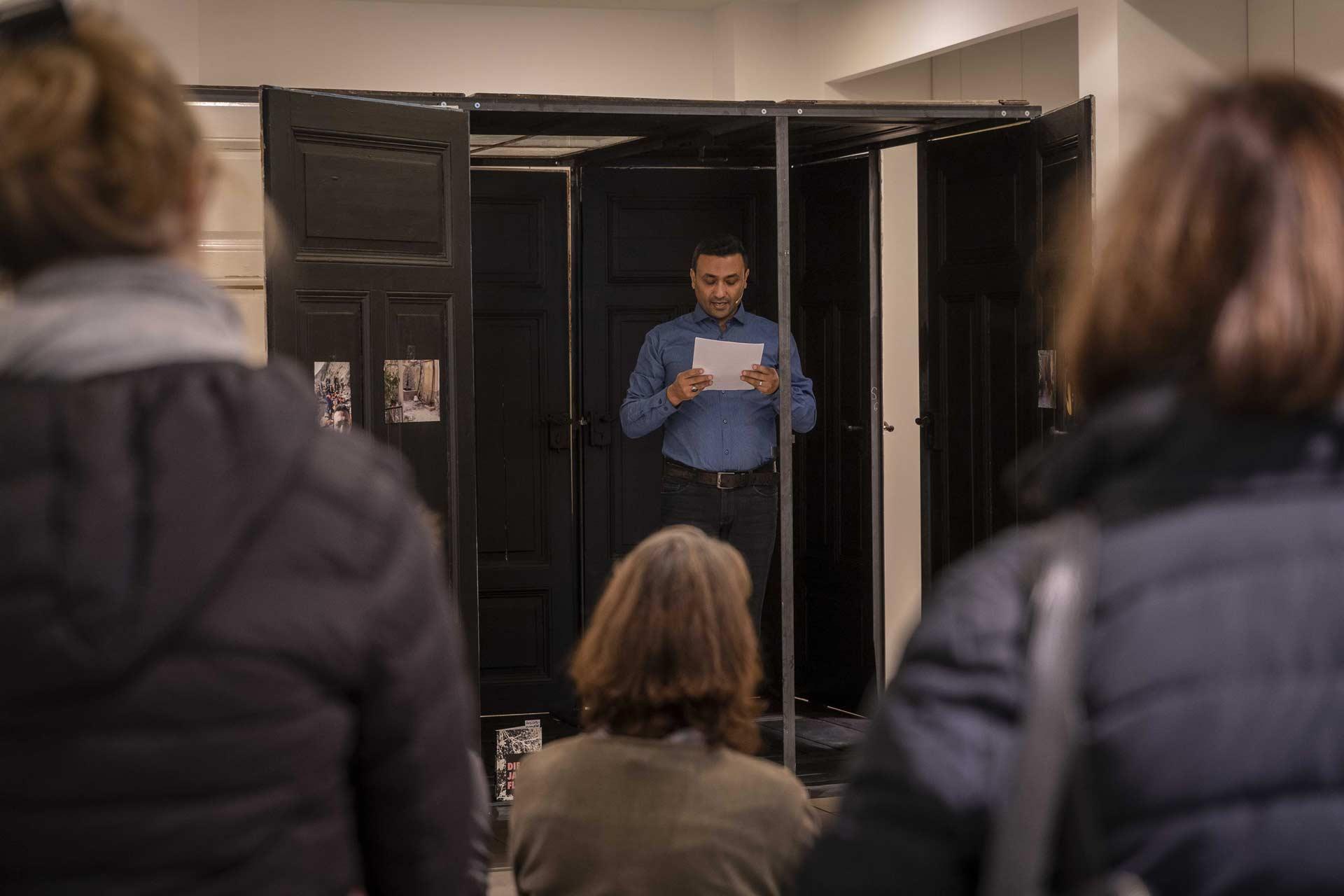 Revolutionale 2019 - Lesung und Gespräch mit Fahd Aldaya: Die Jasmin-Flucht - Foto: Roland Quester