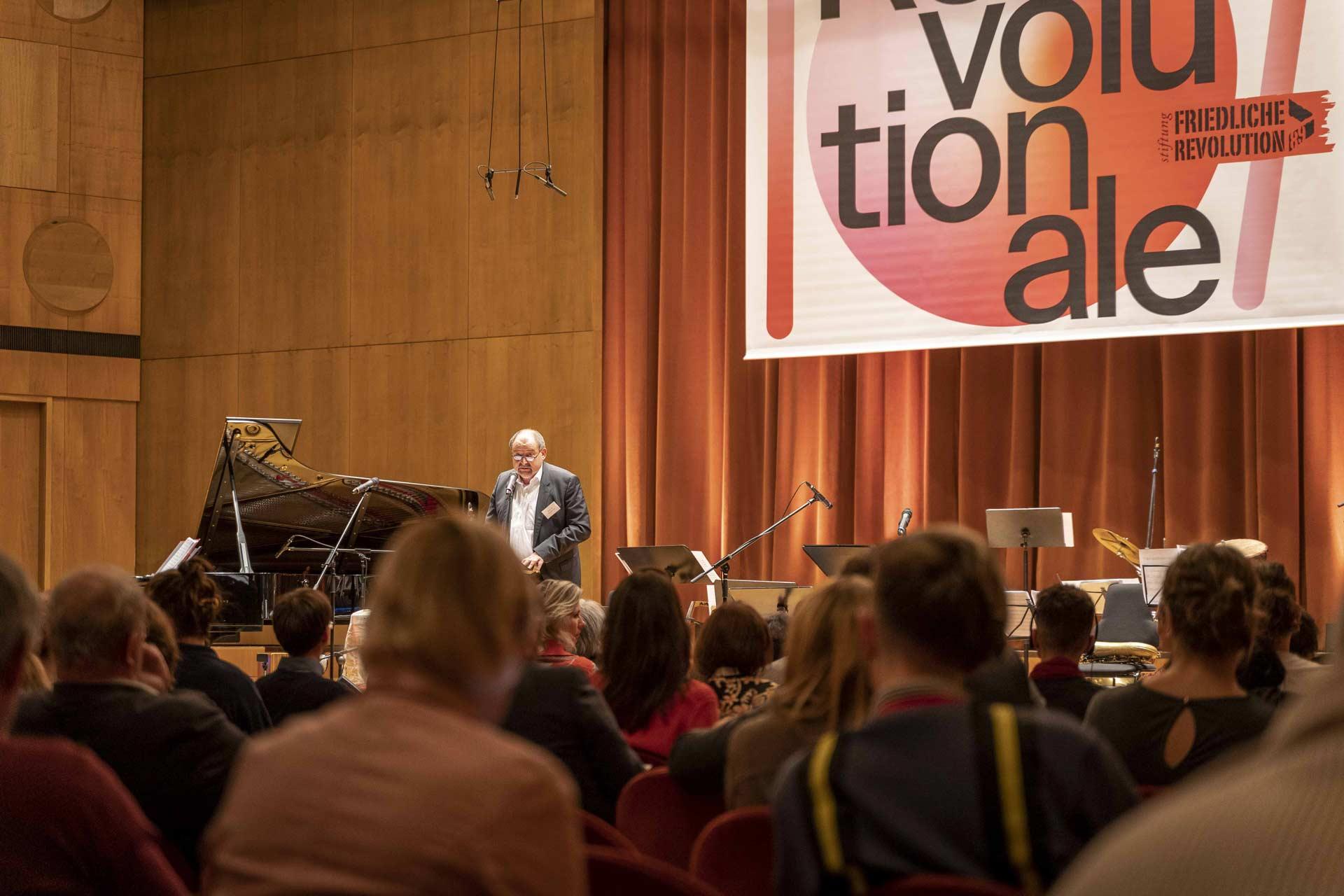 Revolutionale 2019 - Eröffnung im Gewandhaus - Foto: Roland Quester